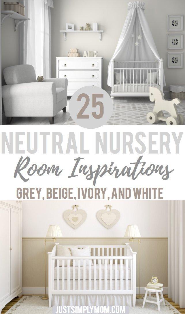 25 Neutral Nursery Room Ideas for Inspiration