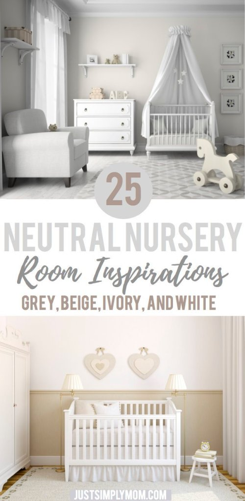 25 Neutral Nursery Room Ideas For Inspiration Just Simply Mom
