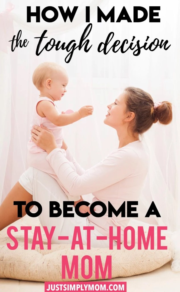 The decision to stay at home with your kids is difficult, but here are some reasons behind how I finally made the decision and did it the smart way. I love being a stay-at-home mom now with my baby and toddler and not missing out on these years that I won't get back to watch them learn and grow.