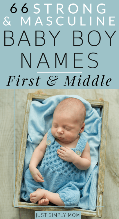 Picking a name for your baby can be a tough decision. Here is a list of strong and masculine boy first and middle names and tips to help you decide.