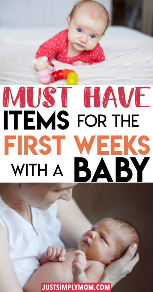 Some items that I couldn't have lived without during the first days bringing home my newborn baby. A list of the most important, must-have items for your newborn your self as a new mom. When bringing home a new baby, be prepared with products for sleep, feeding, and comfort.