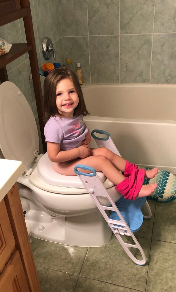 How to travel with a potty-training toddler