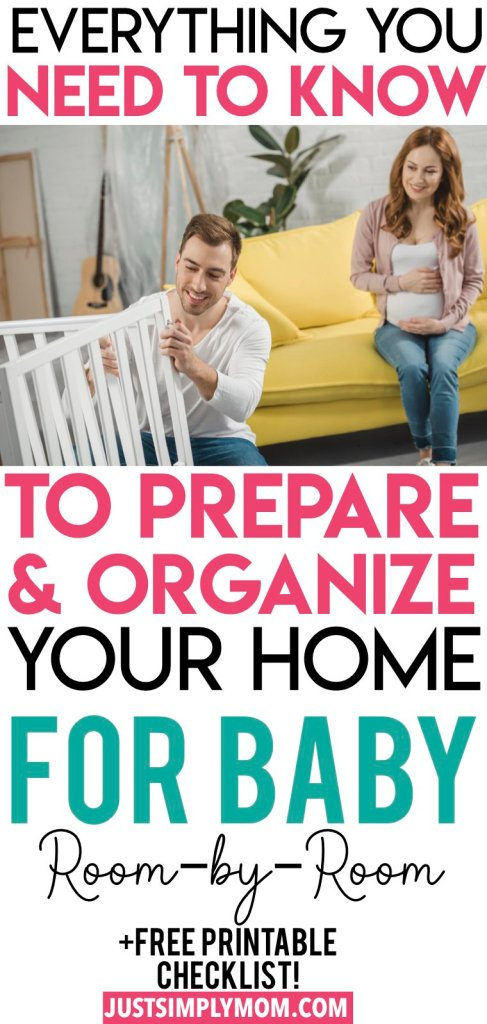 Make sure your whole home is ready and waiting when you bring home your newborn baby. It's not just the nursery that has to be set up for your newborn, but the kitchen, living room, and parent's rooms all will be filled with baby gear soon. Give in to that nesting itch while you're pregnant and get your house ready before baby comes.