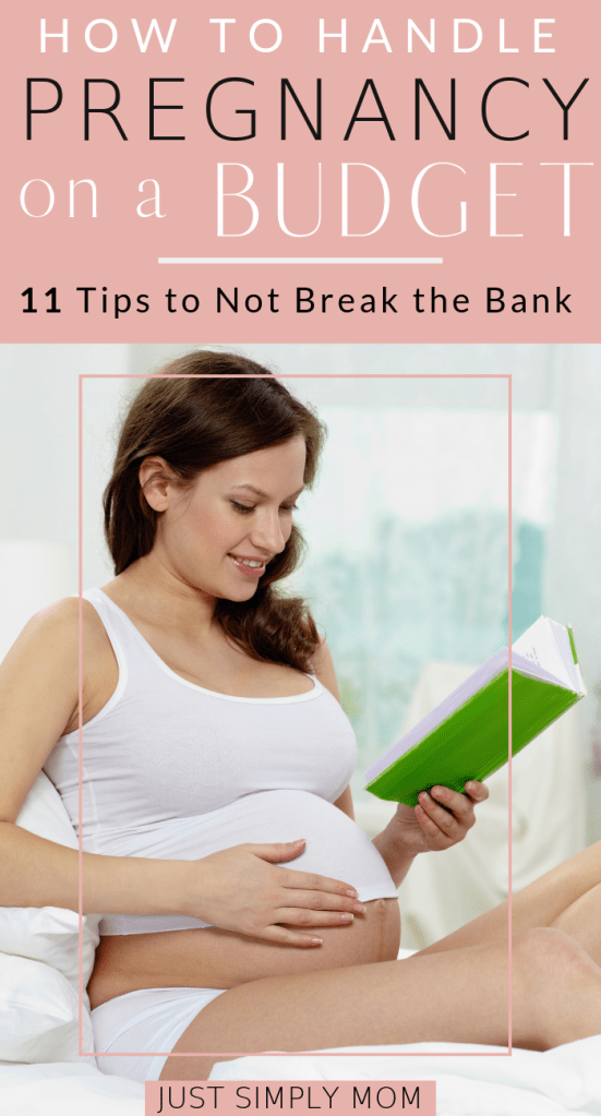 Tips to have a pregnancy on a budget. Don't blow all your money during those 9 months of pregnancy, but find more affordable options to save.