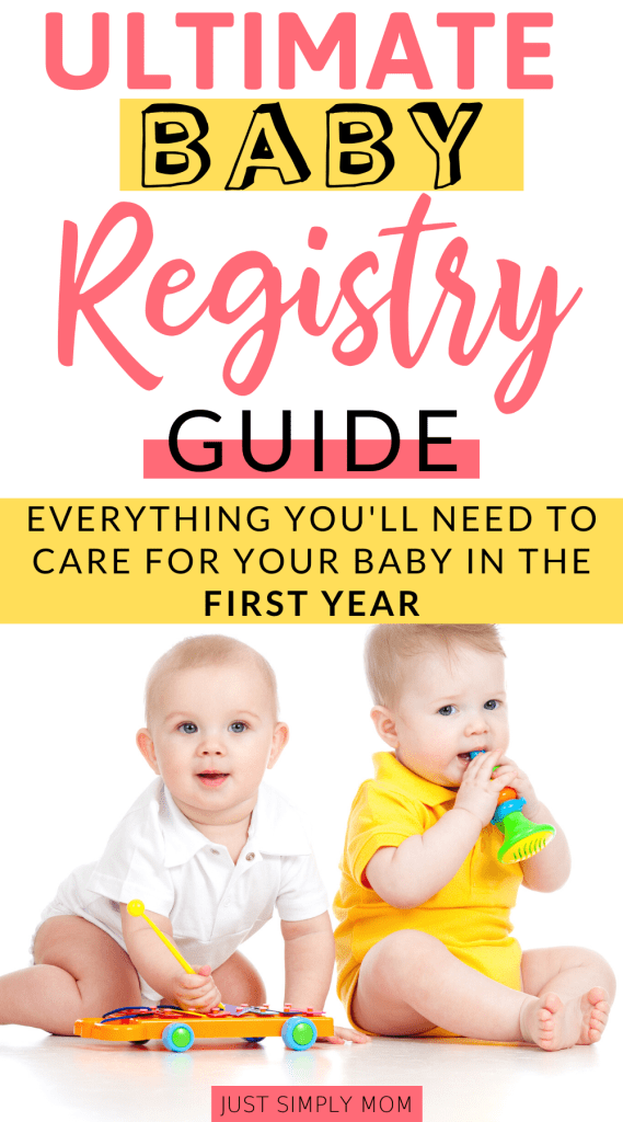 Once you find out you're pregnant, you want to start thinking of the baby necessities you will need. Here is a guide to the essential items to get started on your baby registry for your baby shower.