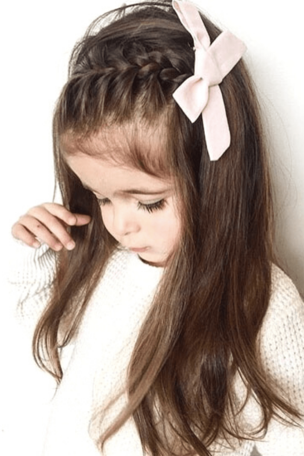 12 Simple and Adorable Toddler Girl Hairstyles for Medium to Long