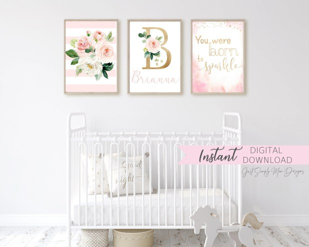 Get some design inspiration and ideas for your baby's nursery here. Whether it's a boy, girl, or gender neutral, there are a ton of handmade items to choose