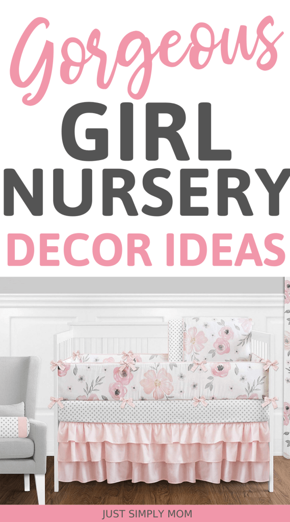 Gorgeous ideas for your blush pink baby girl nursery. Get inspiration for decor, wall accents, and bedding.