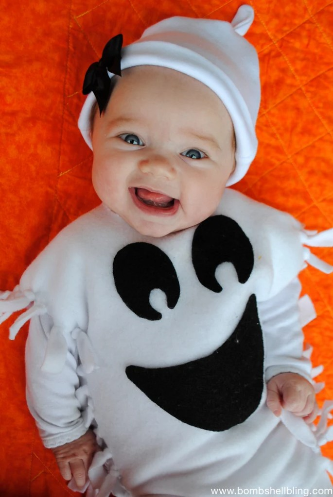 Cute and Adorable DIY Baby Halloween costumes for your little one. Dress them up with family or by themselves and use a carrier, wagon, or stroller too!