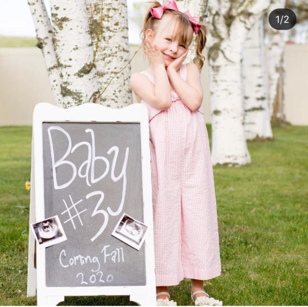 Looking for the perfect sibling pregnancy announcement? Here are ideas for the big brother or sister & your 2nd or 3rd pregnancy announcement