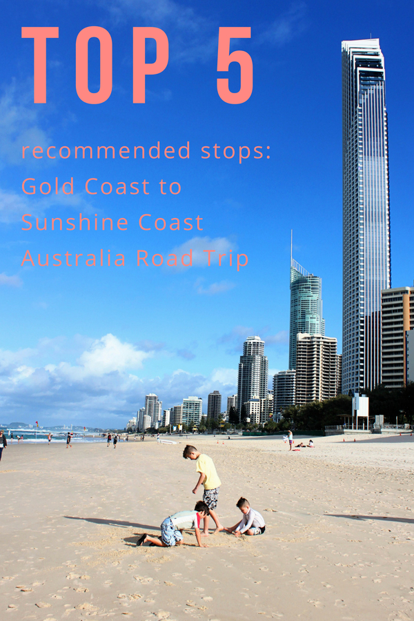 Gold Coast of Australia to Sunshine Coast: Top 5 stops