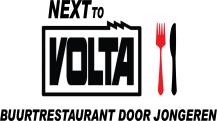 Next to Volta logo groot
