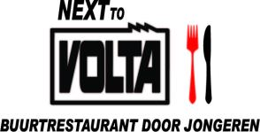 Next to Volta logo