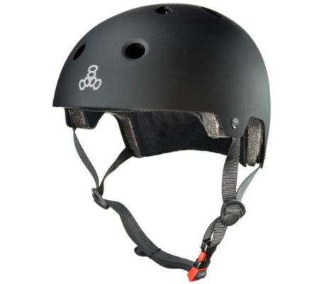 This is a photo of triple8's dual certifiled skate helmet