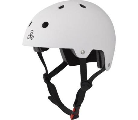 This is a photo of Triple8's Sweatsaver skate helmet