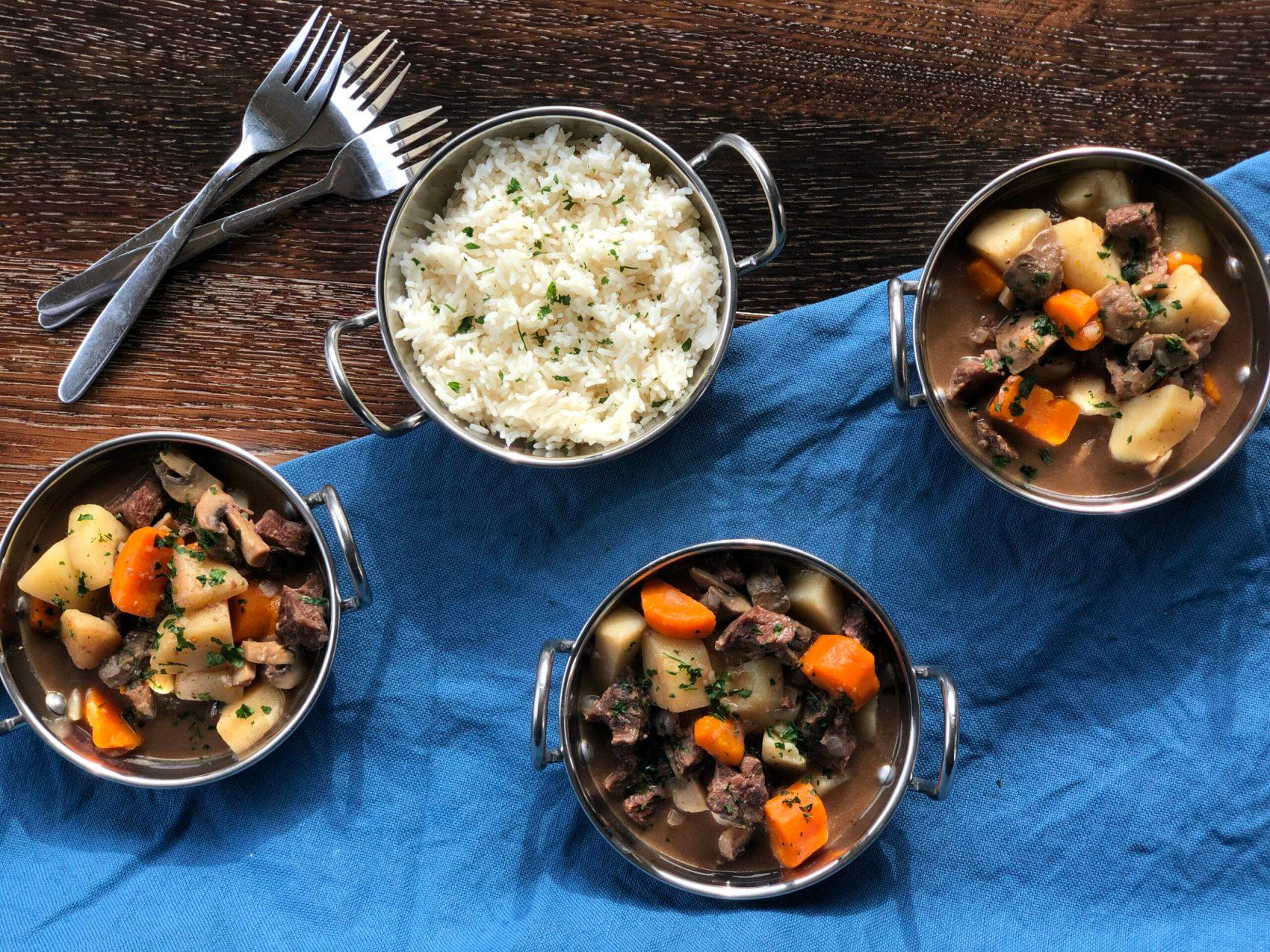 Family Dinner Idea, Thai Beef Curry