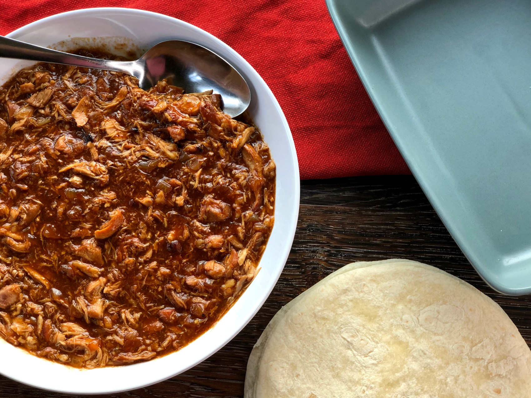BBQ Pulled Chicken Slow Cooker