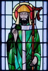 Stained Glass of Saint Patrick