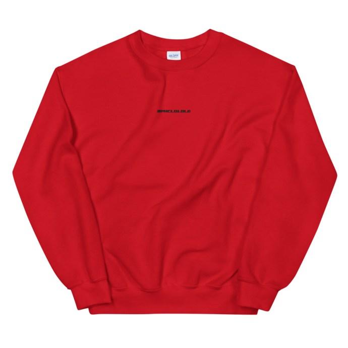 BPHCLQLDLG - Benito Bad Bunny Unisex Crew Neck Sweatshirt - Red