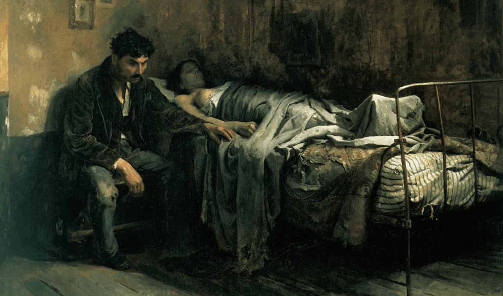 cristobal-rojas-poleo-the-misery-1886