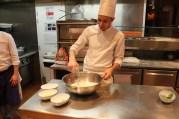 Pizza making at Casa Luca Niel