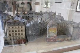 model of Paris, musée Carnavalet