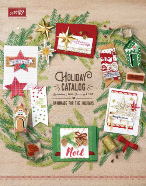 2016 Holiday catalog
