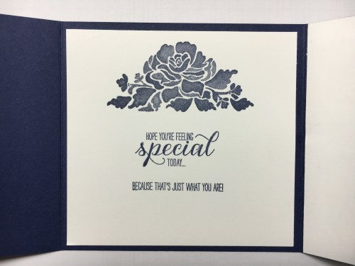 Stampin Up Floral Phrases Birthday fun fold card idea - Jeanie Sta