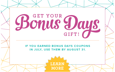 bonus days redeem