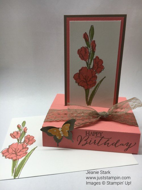Pop Up Fun Fold Card. For directions and supplies visit www.juststampin.com