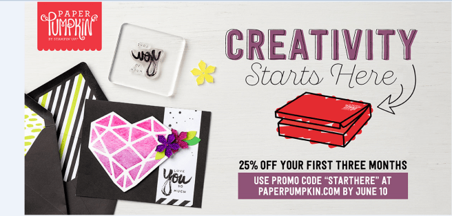 Paper Pumpkin Creativity promo