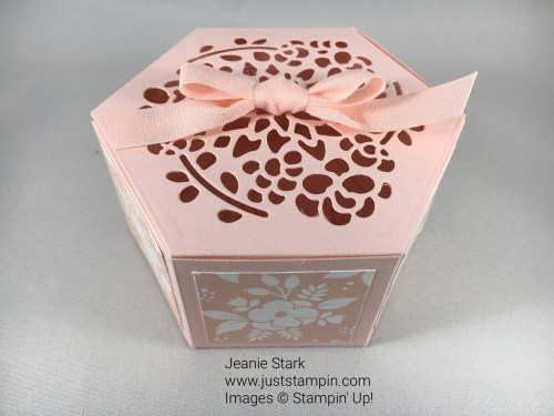 Stampin Up Window Box Thinlits gift idea - Jeanie Stark StampinUp