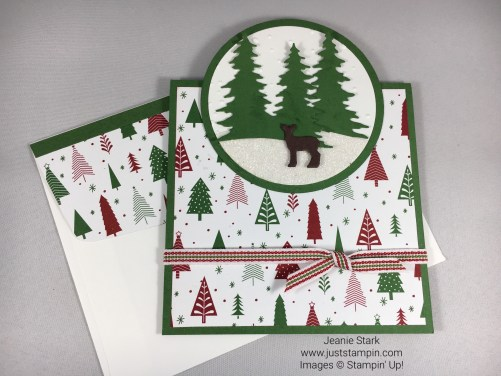 Stampin Up Carols of Christmas Card Idea - Jeanie Stark StampinUp
