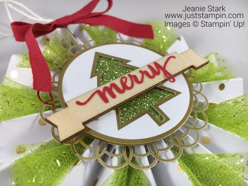 Stampin Up Be Merry Kit festive ornaments and tags - Jeanie Stark StampinUp