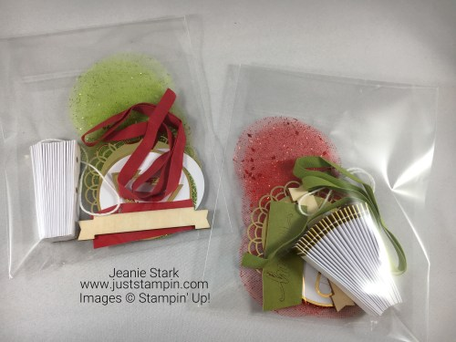 Stampin Up Be Merry Kit - Thank you gift for shopping with me - Jeanie Stark StampinUp