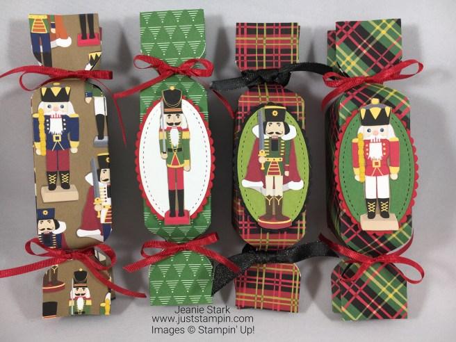Stampin Up Christmas Around the World nutcracker treat holder idea - Jeanie Stark StampinUp