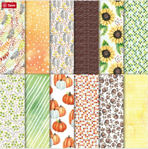 Stampin Up Painted Autumn Designer Series Paper. For inspiration, ordering, and more visit www.juststampin.com