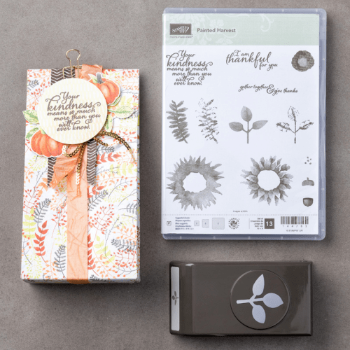 Stampin Up Painted Harvest Bundle. For inspiration and ordering visit www.juststampin.com