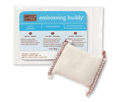 Stampin Up embossing buddy