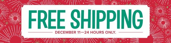 free shipping header