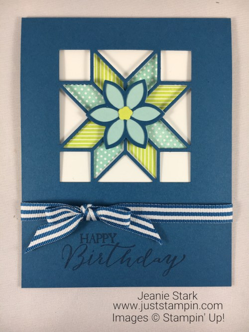 Q Is For Quilted Christmas Just Stampin