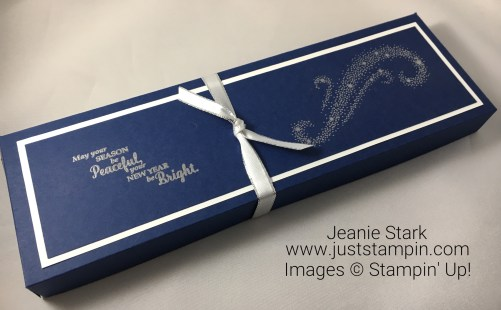 Stampin Up Star of Light candle box idea- Jeanie Stark StampinUp