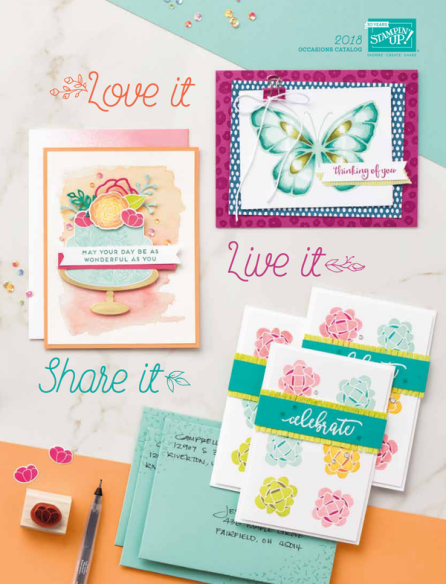 2018 Occasions catalog image