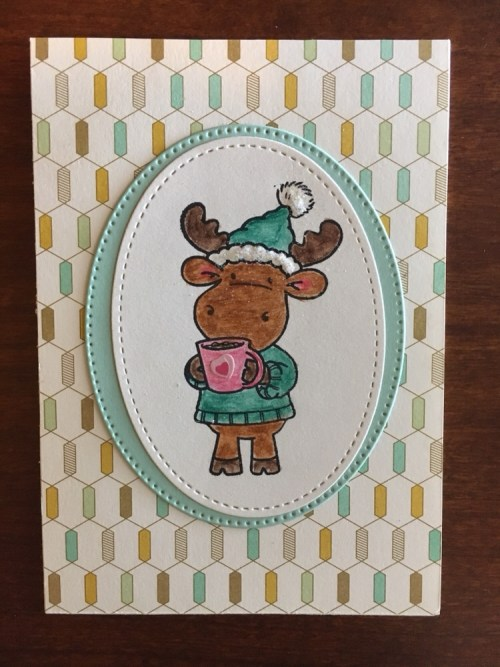 Stampin Up Get Well card idea - For inspiration and to order StampinUp products visit www.justatampin.com