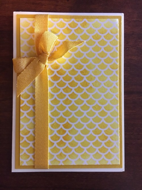 Stampin Up all occasion card idea - for inspiration and ordering visit www.juststampin.com StampinUp