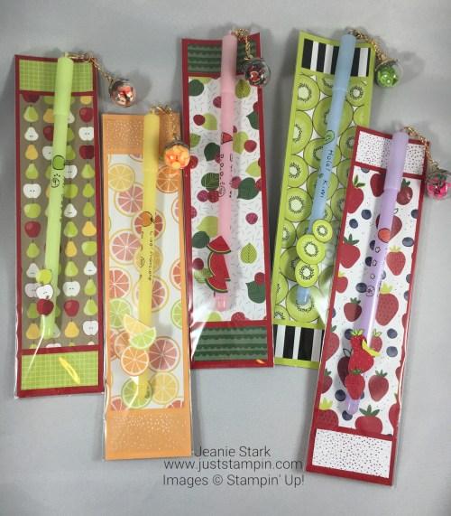 Stampin Up Tutti-Frutti Designer Series Paper gift idea - Jeanie Stark StampinUp