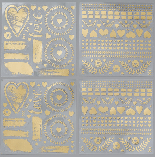 Stampin Up Painted Love God Vinyl Stickers - for inspiration and ordering visit www.juststampin.com - Jeanie Stark StampinUp