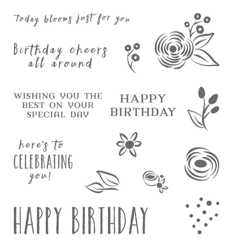 Stampin Up Perennial Birthday Stamp set - For ideas and ordering visit www.juststampin.com Jeanie Stark StampinUp