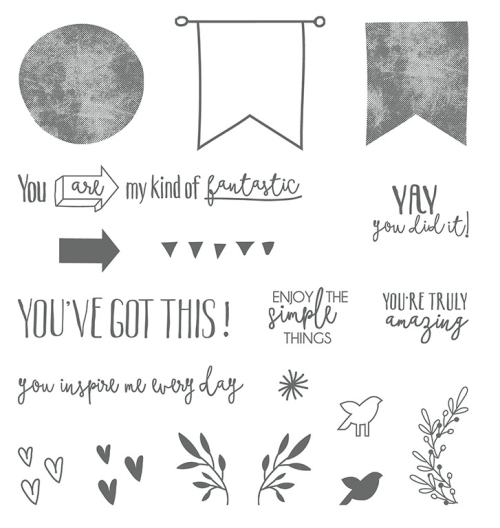 Stampin Up Ya You Stamp Set - for ideas and ordering information visit www.juststampin.com Jeanie Stark StampinUp