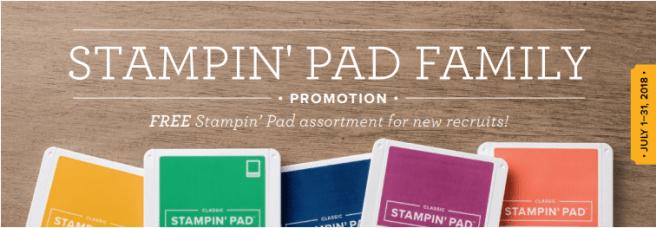 Stampin Pad Family
